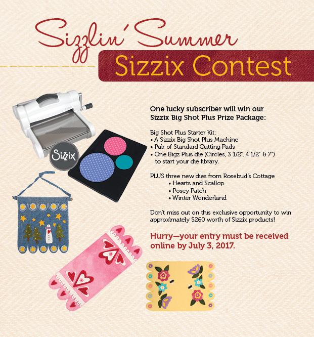 Sizzix Contest